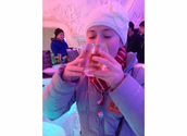 Boire de le sirop d'érable
