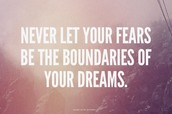 Let Go of Fear