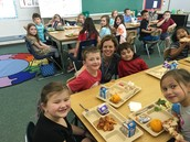 What an awesome RISE lunch group last week! Please encourage kids to spend tickets to have lunch with administrators. Dates are on the FES Staff Google calendar.