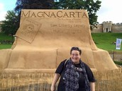 Viewing the Magna Carta in England
