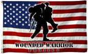 MONEY GOES TO THE WOUNDED WARRIORS!