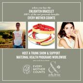 Enlighten Bracelet-Support Every Mother Counts!