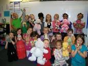 Stuffed Animal Day!