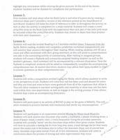 Rocks and Minerals Lesson Plans Pg2