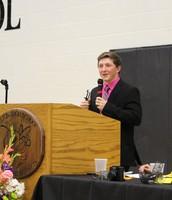 Trenton Clines, Senior Speaker