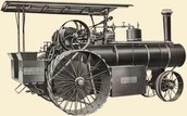 STEAM ENGINE INVENTED BY: JAMES WATT