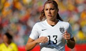 Alex Morgan, one of the youngest best players on USWNT