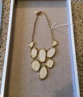 Fiona Bib Necklace $45