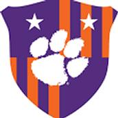 Clemson soccer logo