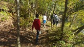 Geocaching in Sweetwater Creek State Park