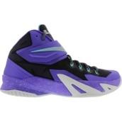 Los zapatos morado cuesta $130 dólares.