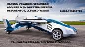 EL UNICO AUTO VOLADOR EN EL MUNDO!!!