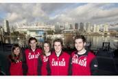 2014 Olympics Canadian Snowboard Team