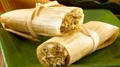 Tamales con Carne ( trescientos veinti pesos 320)