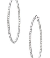 SOLD! Adelaide Hoops - silver