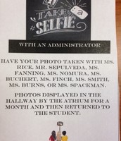 Selfie with Administrator