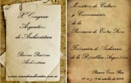 10º Congreso Argentino de Archivística