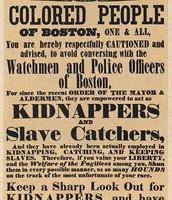 Boston Slave Catcher Poster