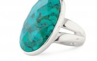 Odyseey Ring turquoise adjustable NOW $25