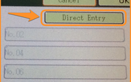 Direct Entry