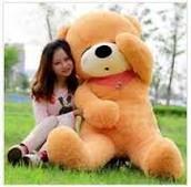 MUMMY TEDDY!  120CM HANYA RM 130.00!