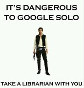 Never Google Solo!