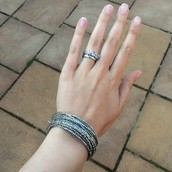 Bardot spiral bracelet in silver (£25.50) or gold (£25.31) from £40
