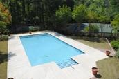 Beautiful backyard pool!