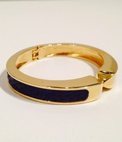 Emerson Bangle Gold & Navy