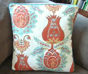 Piped Pillow Cover