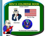 Ben Franklin's Coloring Book: