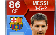 Messi 86 rating in ultimate team