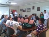 IPS: Charla a Trainees