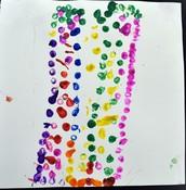Safa's Pointillism Tree