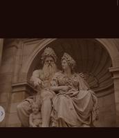 Hera and her husband Zeus