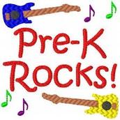 PreK at Rockcreek  2016-17 School Year