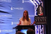 Soccer icon Brandi Chastain wows packed crowd at CSU