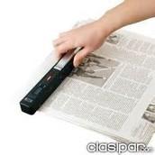 Escáner manual