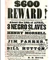 Reward Poster for Capturing Runaway Slaves