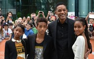 jaden smith and his family