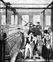 A Scene From A Factory