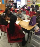 Ms. Ingram at Burleson Elementary