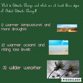 WHAT ARE THE THREE SIGNS OF CLIMATE CHANGE?