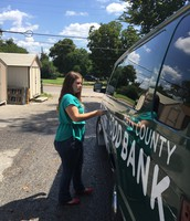 Washing the Van
