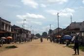 Les rues de Kindu