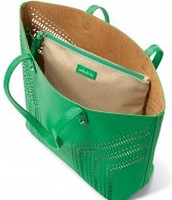 The Fillmore Tote in Kelly Green