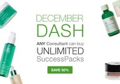 December Dash!  Success Packs and Special Value Packs