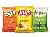 Chips associated with Subway