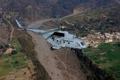 Indian air force rescues trapped people