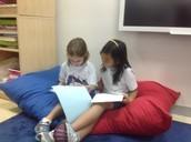 Ferisya and Fara Sharing Published Writing